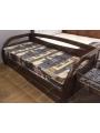 Кровать-софа деревянная Любава
