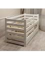 Выкатная двухъярусная детская кровать Вирсавия