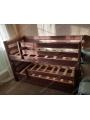 Выкатная двухъярусная детская кровать Вирсавия-2