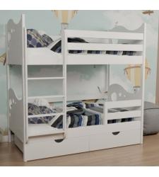 Кровать двухъярусная детская АГАТА