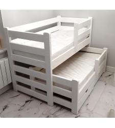 Детская кровать ВИРСАВИЯ  выкатная двухъярусная