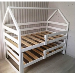 Детская кровать-домик Виола с выкатным спальным местом