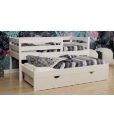 Кровать ЮНОНА выкатная двухъярусная детская