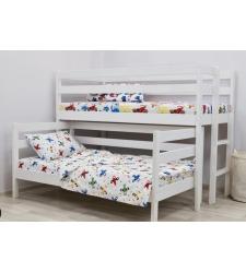 Выкатная двухъярусная детская кровать ВИРСАВИЯ-3